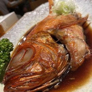 金目鯛の煮付け(魚河岸 丸天 魚河岸店)