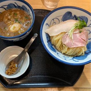鶏と魚介のつけめん(つけ麺 たけもと)