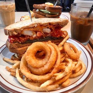 シュリンプ ポーボーイ(J.S. BURGERS CAFE 新宿店 (J.S.バーガーズ カフェ 【旧店名】STANDARD BURGERS))