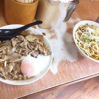肉うどん(ダブル)(肉そば・肉うどん 南天 本店)
