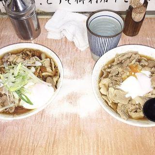 肉うどん(肉そば・肉うどん 南天 本店)