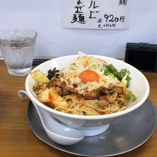 情熱のチーズタッカルビまぜ麺(竹末食堂 )