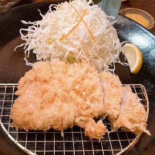 ロースかつ定食(あげづき )