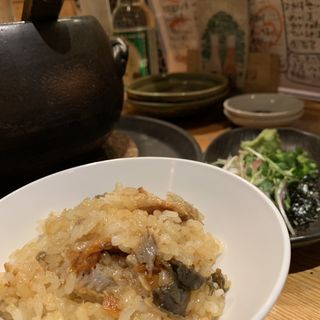 うなぎの土鍋ごはん(まんまじいま)