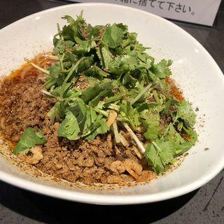 汁なし担々麺+パクチー増し(タンタンタイガー)