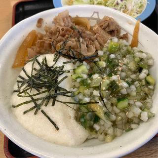 山形だしの三色丼(松屋 渋谷清水橋店 )