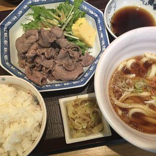 特選和牛のおろしポン酢定食(日本橋 三冨魯久汁八 )