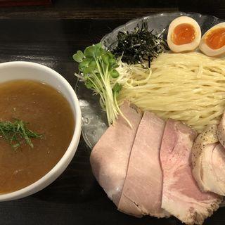 冷やしつけ麺+特製トッピング(らぁ麺 きくはん )