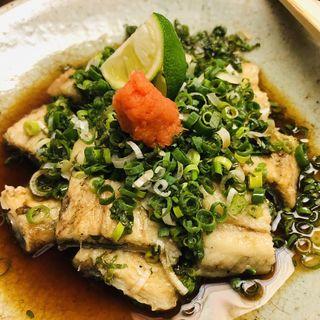 鰻のたたき(神田きくかわ 日比谷店 (かんだきくかわ))