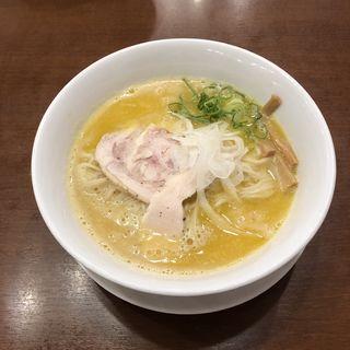 濃厚白湯塩(RAMEN 風見鶏 阿倍野 (ラーメンカザミドリ))