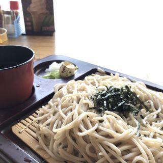 ざる蕎麦(レストラン ときん )