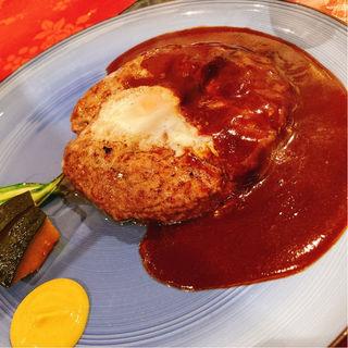 ハンバーグ定食(くいしんぼー山中 (kuishinbo YAMANAKA クイシンボーヤマナカ))