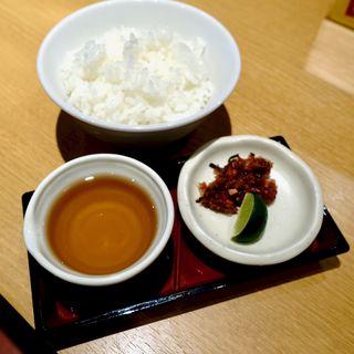 お茶漬けライス(カレーうどん たちばな )