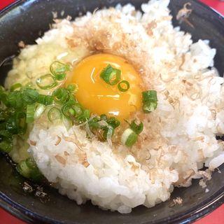 玉子かけご飯(ラーメン山岡家 南2条店)