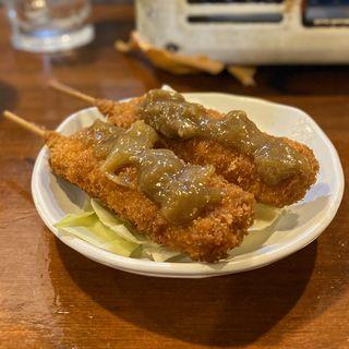 串カツ(豚)(カレー)(かっぱの茶の間 )