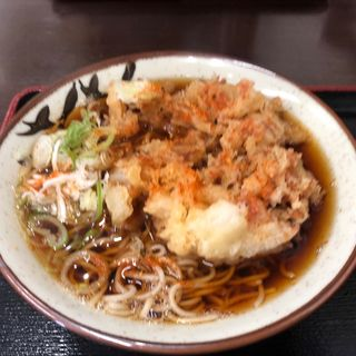 かきあげそば(そばよし 京橋店)