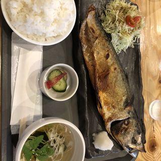 塩さば定食(SABAR+仙台店)
