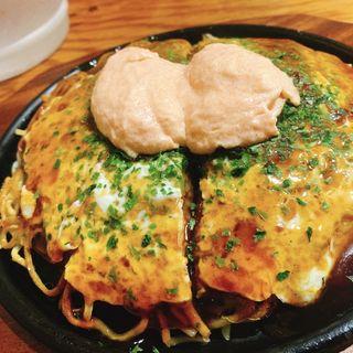 肉玉 明太マヨトッピング(TABO 次郎丸店 (たーぼー))