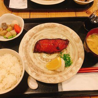銀鱈みりん定食(梅山鉄平食堂 )