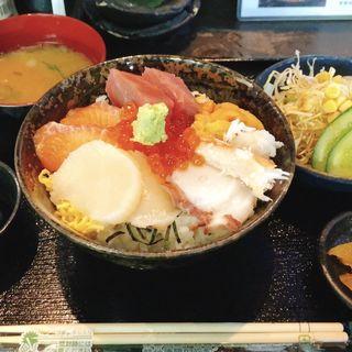 海鮮丼定食(North Dining 神衣 (ノースダイニング・カムイ))