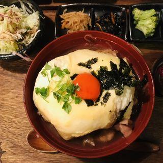 親子丼セット(難波 炭焼笑店 陽 )