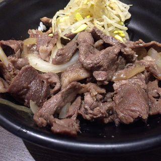 単角牛カルビ丼(焼肉酒家 李苑 (りえん))