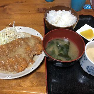 チキンバンバンジー定食(夢屋)