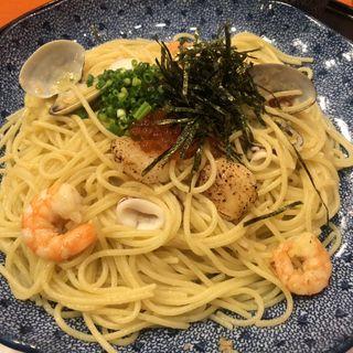 海の幸のよくばりスパゲッティー(五右衛門 目黒駅前店 )