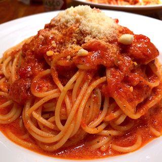 トマトとニンニクのスパゲティ(カプリチョーザ ザ・モール仙台長町店 )