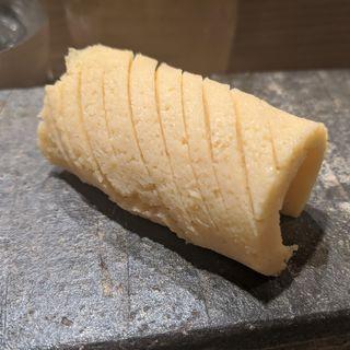 蒸し焼き玉子(鮨と酒 魚伸)