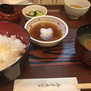 天ぷら御飯(つじ村 (つじむら))