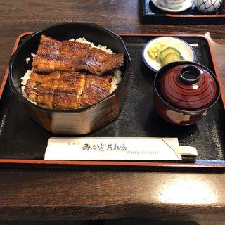 鰻丼 特上丼(250g)肝吸付