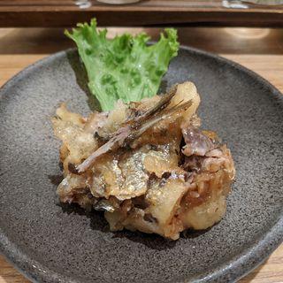 イワシの梅しそ巻き(Sake&Daidokoro Te.Mari)