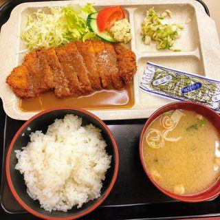 ビフカツ定食(日松亭 )