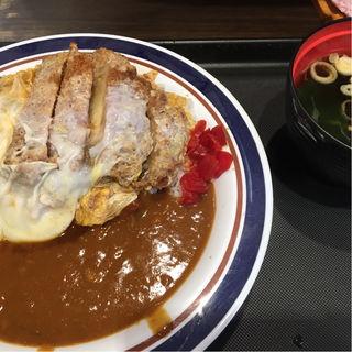 カツ丼カレー(名代 富士そば 歌舞伎座前店 )