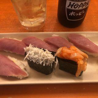 本日の寿司  一貫