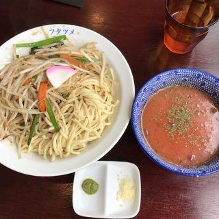 冷やしトマトもりタンメン(極濃湯麺 フタツメ 越戸店)