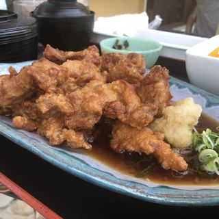 揚げだし唐揚げ(コットンキャンディー (Cafe&Restaurant CottonCandy))