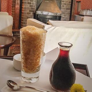 黄金のコーヒー(武蔵野茶房 江戸東京たてもの園店 )