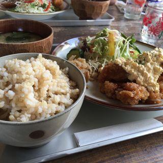 チキン南蛮タルタルソース定食