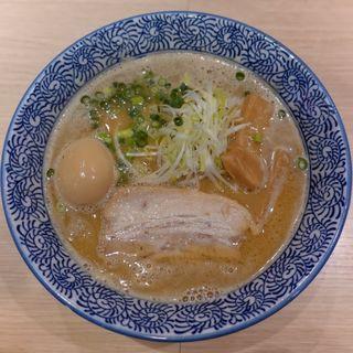 半熟味玉濃厚魚介らーめん(麺屋 一燈 (いっとう))