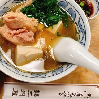鳥豆腐(三州屋)