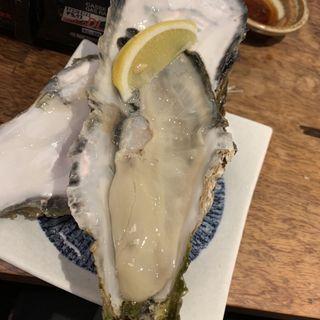 大粒焼き牡蠣