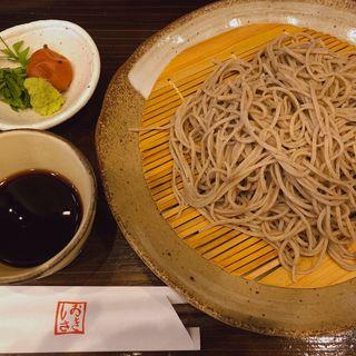 梅しそ蕎麦(十割そばと酒肴 しおさき)