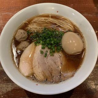芳醇醤油鶏そば(麺や而今 (じこん))