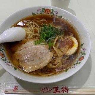 醤油ラーメン(餃子の王将 イオン金沢八景店)