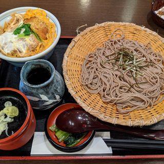かつ丼定食(そじ坊 新大阪ニッセイビル店 (そじぼう))