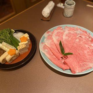 すき焼きコース(今半万窯 新宿店 (イマハンバンヨウ))