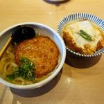 丸天うどん+ミニカツ丼