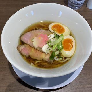 地鶏そば・白醤油(ラーメン家 こゝろ)